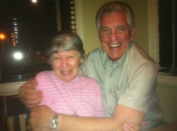 A big, Southern hug for cousin Frannie